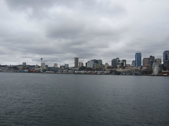 Washington State Ferries: Skyline view from the Ferry