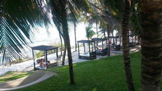 Garrafon Natural Reef Park : eine der Liegemöglichkeiten