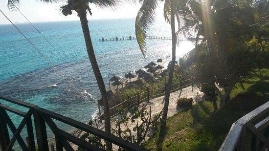 Garrafon Natural Reef Park : Blick vom Eingang