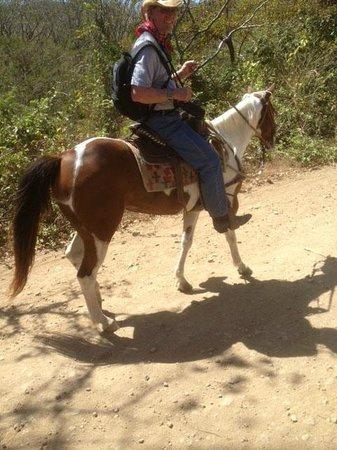 Rancho Chilamate Adventures on Horseback: My handsome husband cowboy