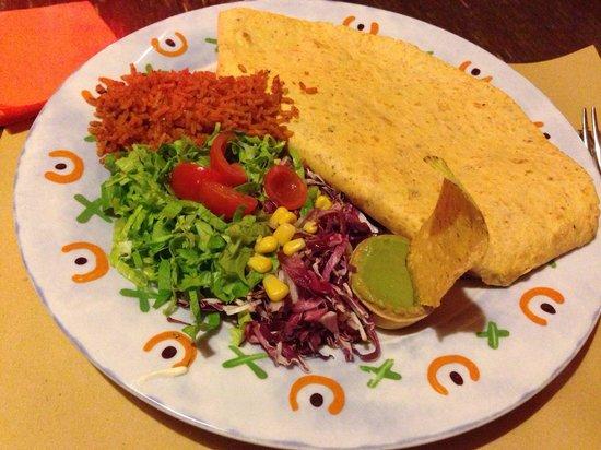 Mexì - Cantina & Tacos: Burrito de tinga! Amore al primo boccone!