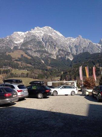 Hotel Der Krallerhof : from front desk