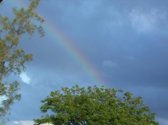 Jewel Paradise Cove Resort & Spa Runaway Bay, Curio Collection by Hilton: BEAUTIFUL rainbow after a brief shower.
