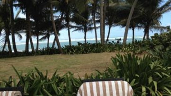 Sivory Punta Cana Boutique Hotel: View from the patio