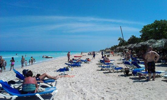 Allegro Palma Real: The pristine beach