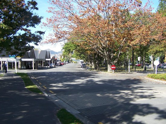 Hanmer Springs Top 10 Holiday Park : Hanmer Springs Town Centre