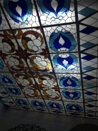 Cafe de Tacuba : El domo del piso superior...