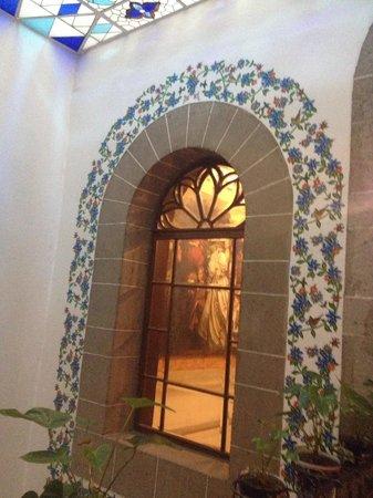 Cafe de Tacuba : Un detalle de la decoración...