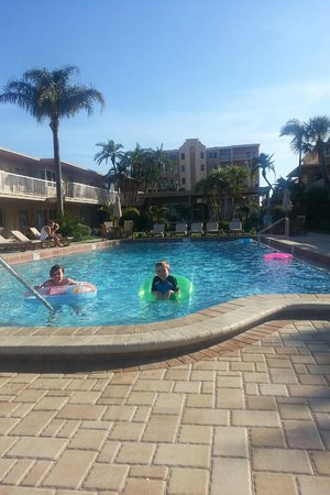 Treasure Island Ocean Club: Kids loved the HEATED POOL