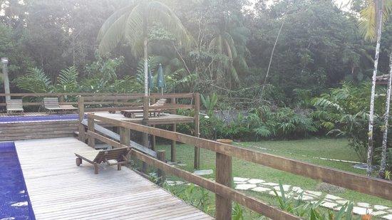 Pousada Piavu: Área verde