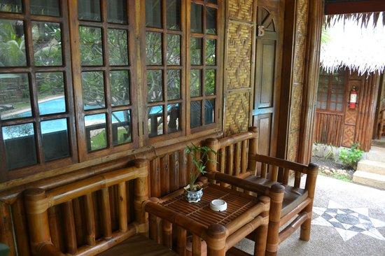 Oasis Resort: terrasse