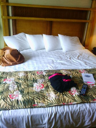 Maui Sands Resort & Indoor Waterpark: my room love it badly needed some rnr