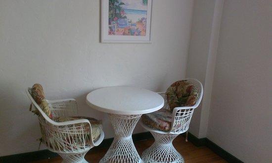 Venezia Hotel: sitting area