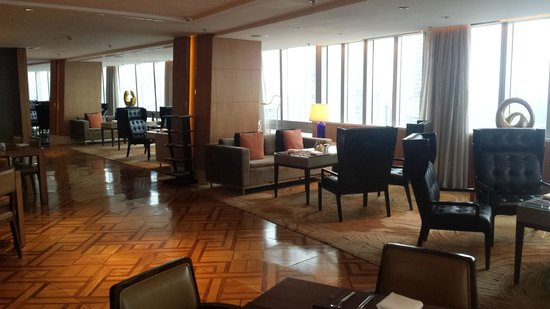 Shanghai Marriott Hotel City Centre: Lounge view