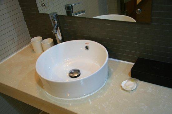 Quanji Hotel Shanghai New Horizons : 浴室