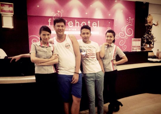 favehotel Umalas : The beat FDA. Prita and Ita