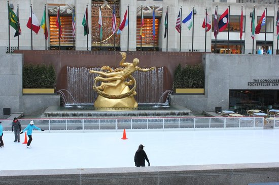 Rockefeller Center: Rockerfeller Skating