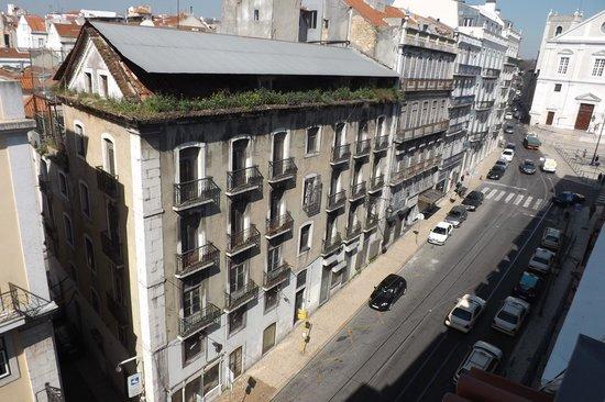 9HOTEL MERCY: Vista da janela do meu quarto no quinto andar