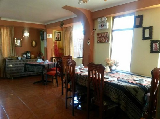 Casa Hospedaje Hatun Quilla: COMEDOR