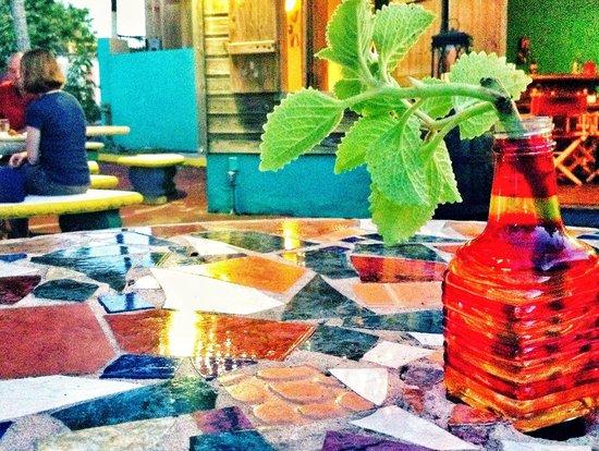 La Zafra : Outdoor dining