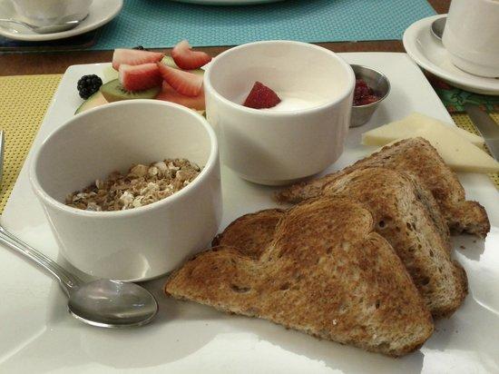 Hotel Le Vincent: Déjeuner santé