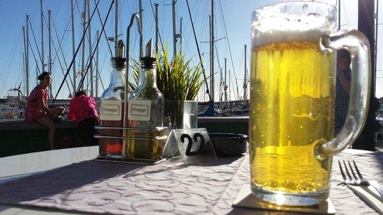 Cafe de Mogan : cerveza