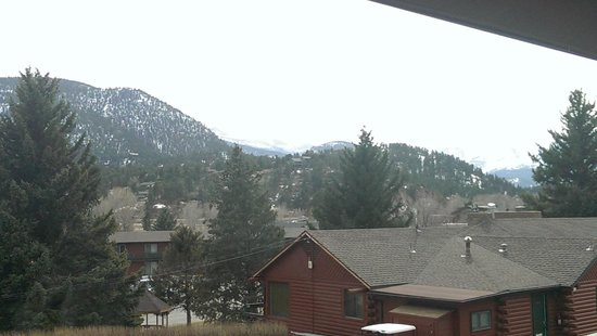 Discovery Lodge: View from bay window