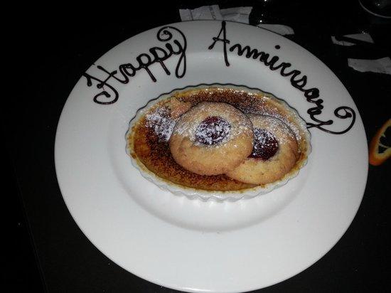 The Vinoy Renaissance St. Petersburg Resort & Golf Club: Our dessert one evening