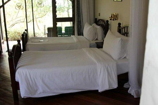 Sarova Lion Hill Game Lodge: Comfy beds