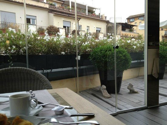 Babuino 181 : Rooftop breakfast