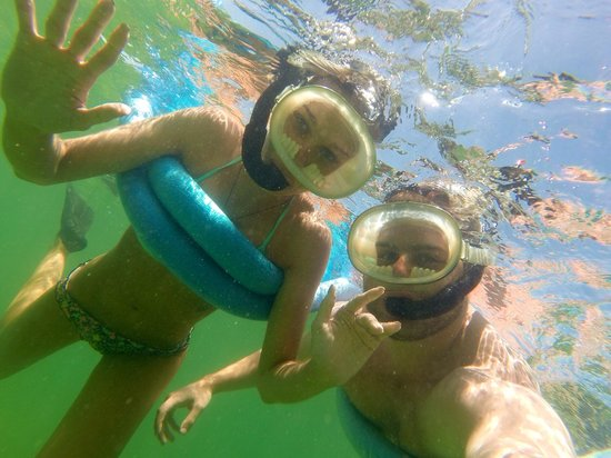 Danger Charters: Snorkeling using the gopro camera