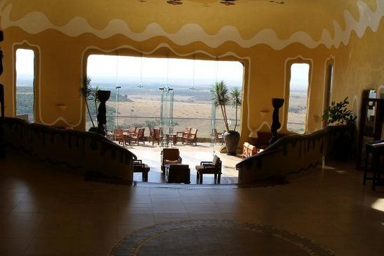 Mara Serena Safari Lodge : Brand new reception area