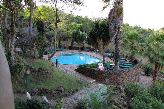 Mara Serena Safari Lodge: Nice pool