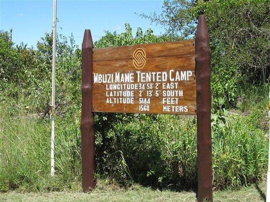 Mbuzi Mawe Serena Camp: Location information