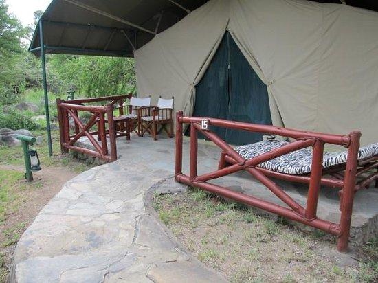 Mbuzi Mawe Serena Camp: Huge Tents