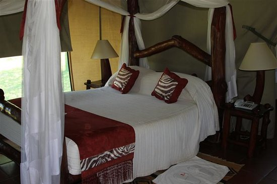Mbuzi Mawe Serena Camp: Outstanding beds