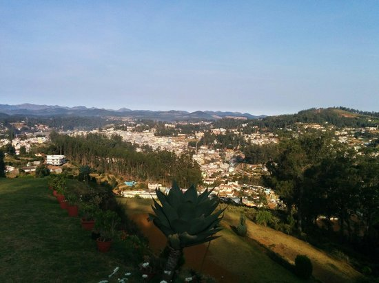 Sinclairs Retreat Ooty: View from the garden