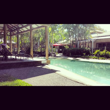 South Pacific Resort Noosa: Pools galore.  Quiet and peaceful.  Bliss.