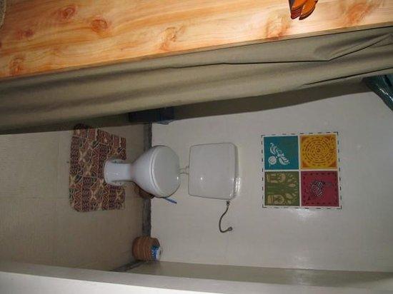 Tarangire Safari Lodge: Separate toilet area with privacy