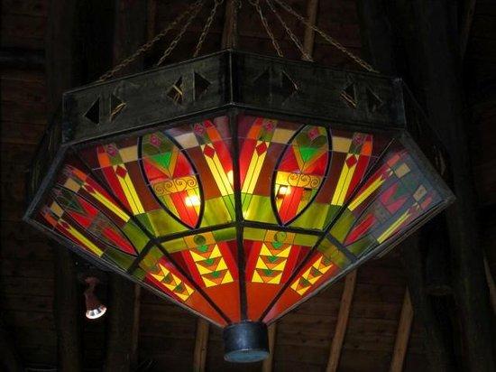 Ol Tukai Lodge : Beautiful lamps