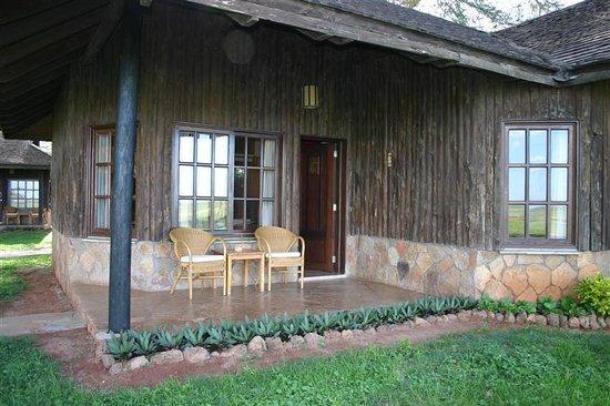 Ol Tukai Lodge : Room Exterior