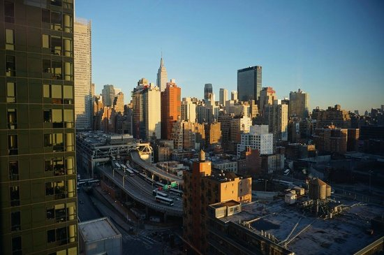 YOTEL New York at Times Square West : The view from Room 2220 :)