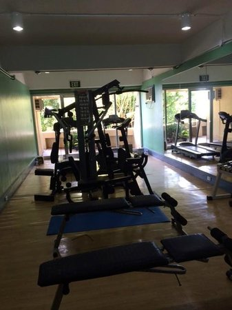 Taal Vista Hotel: gym