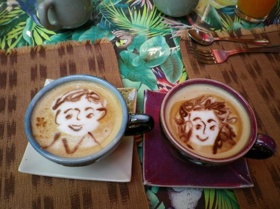 Shewe Wana Boutique Resort and Spa: A personalized coffee every breakfast