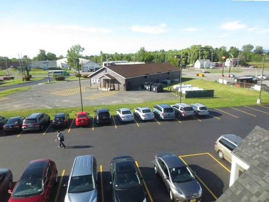 Microtel Inn & Suites by Wyndham Plattsburgh : view from our room