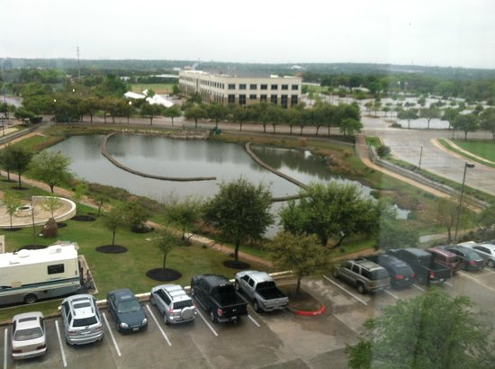 SpringHill Suites Austin North/Parmer Lane: View from my room.