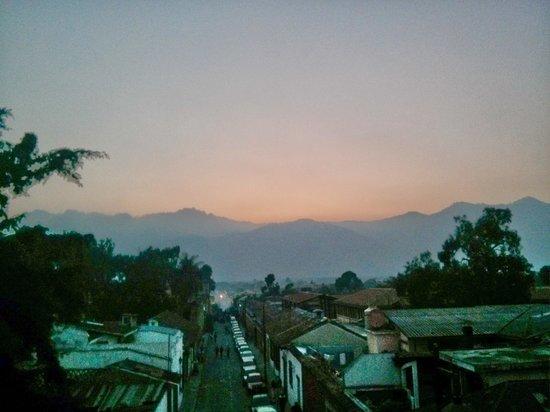 Cafe Sky: Sunset