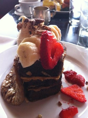 Ardovino's Desert Crossing: banana bread french toast