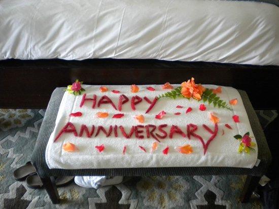 Sandals Emerald Bay Golf, Tennis and Spa Resort : Anniversary.......