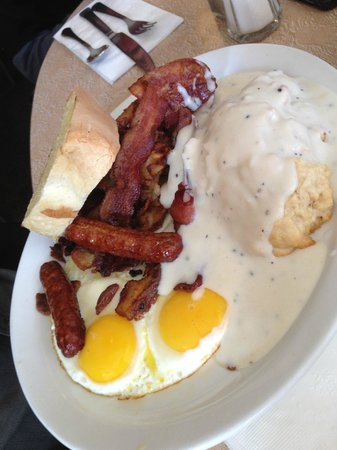 Wild Wood Cafe: Everything on One Plate